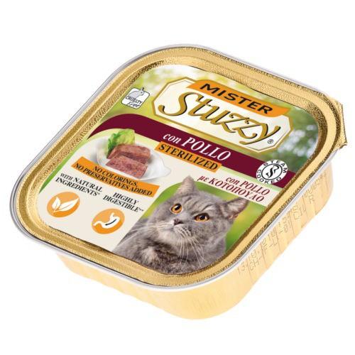 Comida húmeda Mister Stuzzy Sterilized pollo
