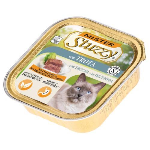 Comida húmeda para gatos Mister Stuzzy trucha