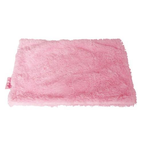 Manta suave para perros y gatos rosa