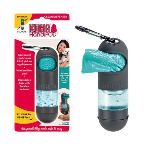 Dispensador KONG HandiPOD con desinfectante