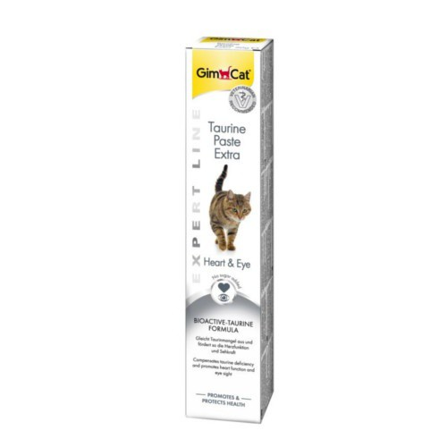 GimCat pasta con extra de Taurina para gatos
