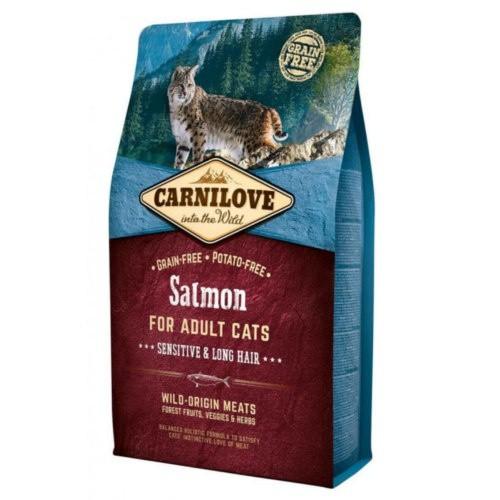 Pienso Carnilove Salmon Sensitive para gatos