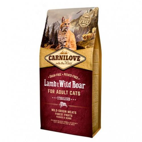 Pienso Carnilove Lamb & Wild Boar Sterilised