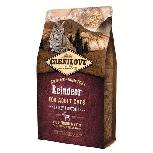 Pienso Carnilove Reindeer Energy para gatos
