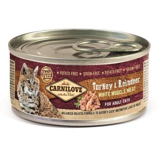 Comida húmeda Carnilove Turkey & Reindeer