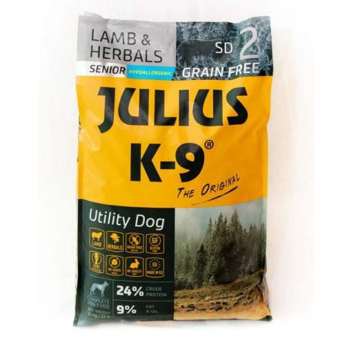 Pienso Julius K-9 Senior cordero y hierbas