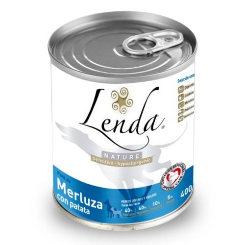 Comida húmeda Lenda Merluza con patata