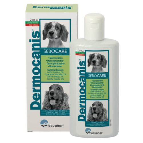 Champú Dermocanis Sebocare para perros