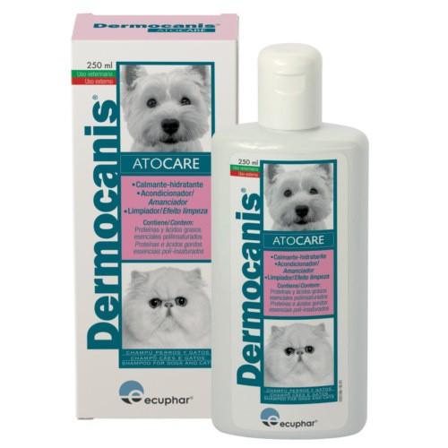 Champú Dermocanis Atocare para mascotas