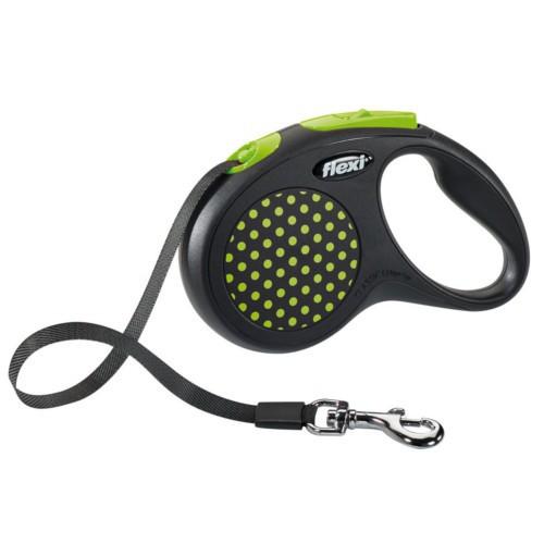 Flexi Design correa extensible de cinta verde