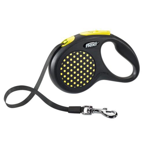 Flexi Design correa extensible de cinta amarilla