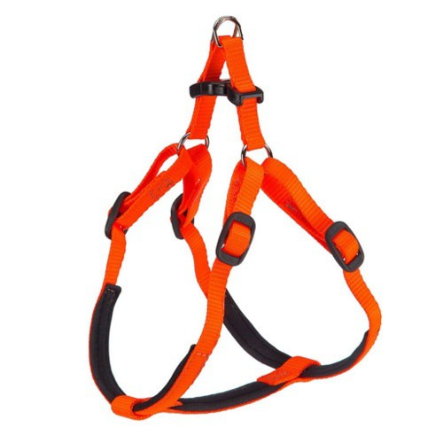 Arnés de nylon acolchado Daytona naranja