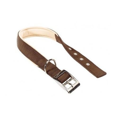 Collar de nylon Daytona marrón