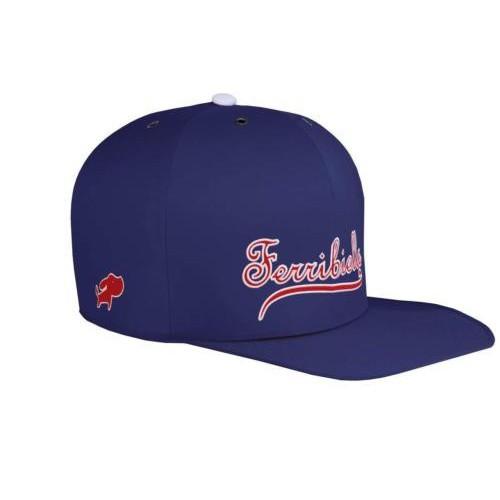 Cama gorra para gatos azul