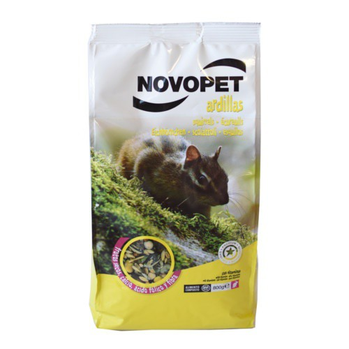 Comida para ardillas Novopet