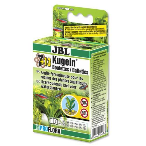 Fertilizante plantas acuáticas JBL 7 13 Kugeln