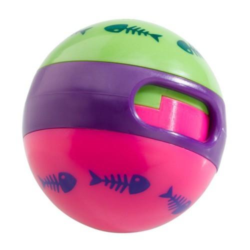 Caps dispenser ball for cats