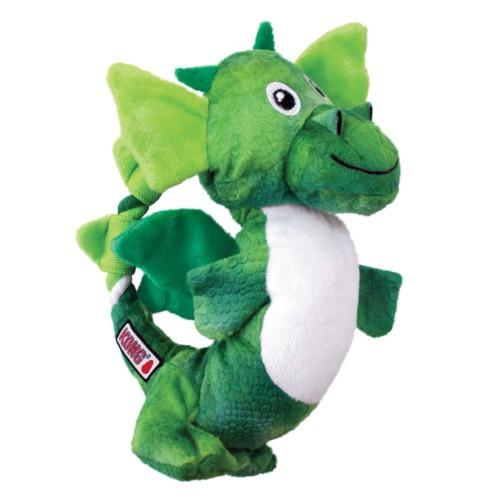Dragón de peluche con nudos KONG Knots