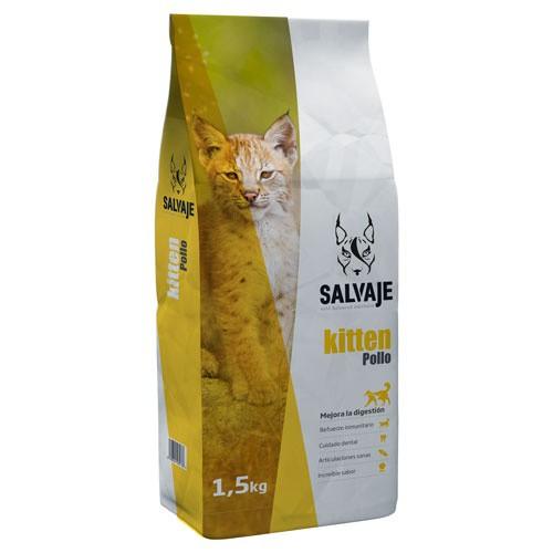 Pienso Salvaje Kitten Pollo para gatitos