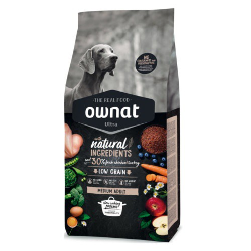 Pienso Ownat Ultra Medium Adult para perros