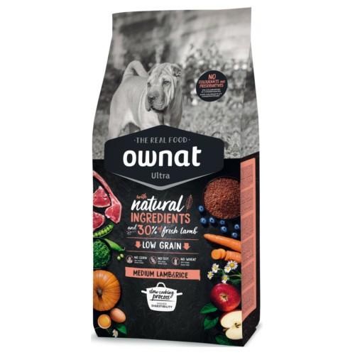 Pienso Ownat Ultra Lamb & Rice para perros