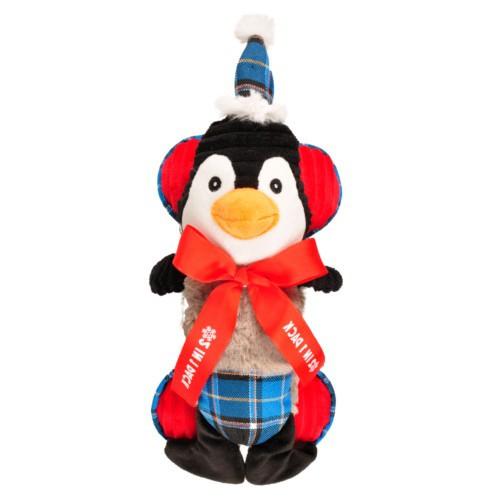 Peluche 2 en 1 Pinguino   Hueso