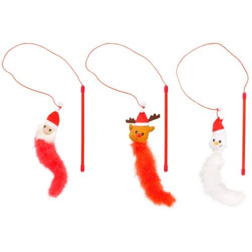 Caña de Navidad para gatos