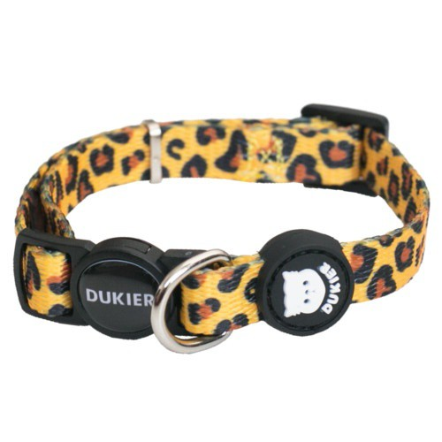 Dukier Animal Print Necklace for cats