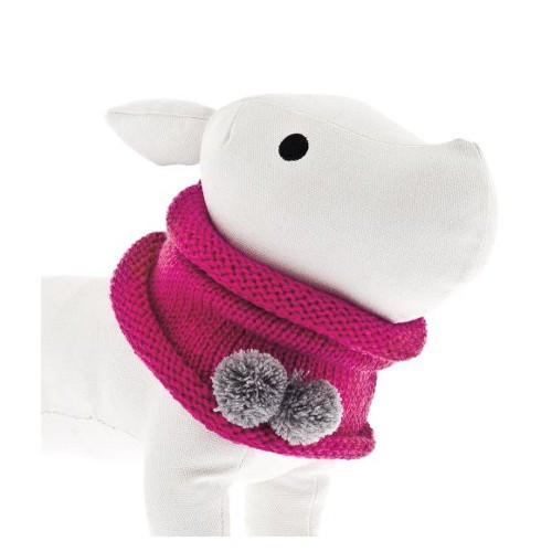 Bufanda circular para perros rosa
