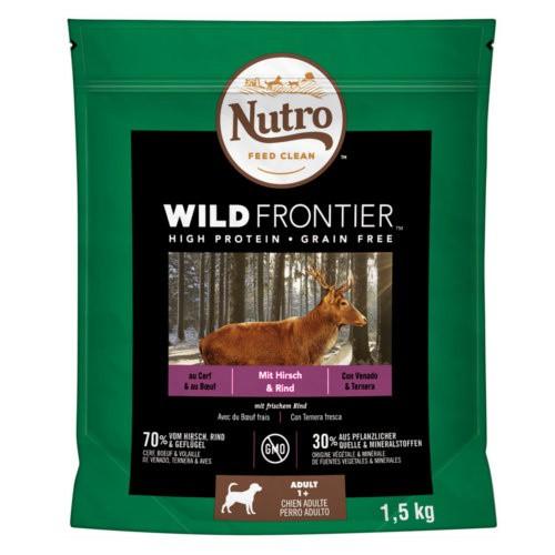 Nutro Wild Frontier Adult Venado y Ternera