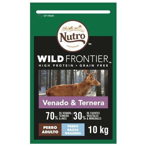 Nutro Wild Frontier Adult Large Venado y Ternera