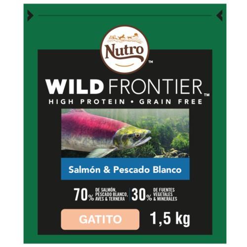 Nutro Wild Frontier Junior Salmón y Pescado para gatos