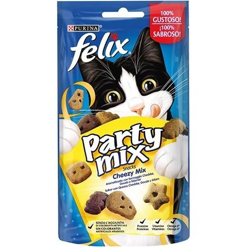 Snacks Felix Party mix Chezzy con quesos
