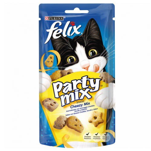 Snacks Felix Party mix Chezzy con quesos