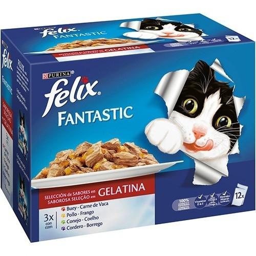 Felix Fantastic Multipack de Carnes en gelatina