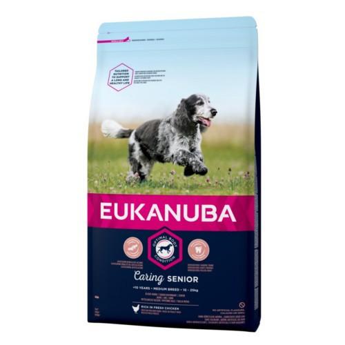 Pienso Eukanuba Senior para perros medianos