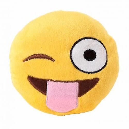 Peluche Emoji Tongue Out para perros