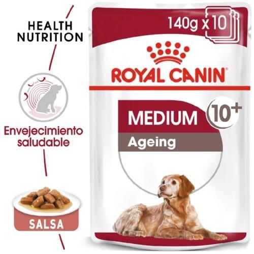 Comida húmeda Royal Canin Medium Ageing 10