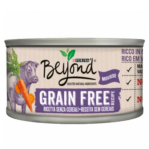 Purina Beyond Grain Free Mousse de Buey