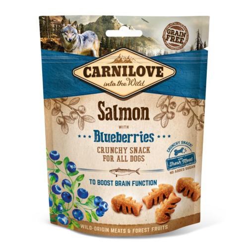 Carnilove Crunchy Snack Salmón con arándanos