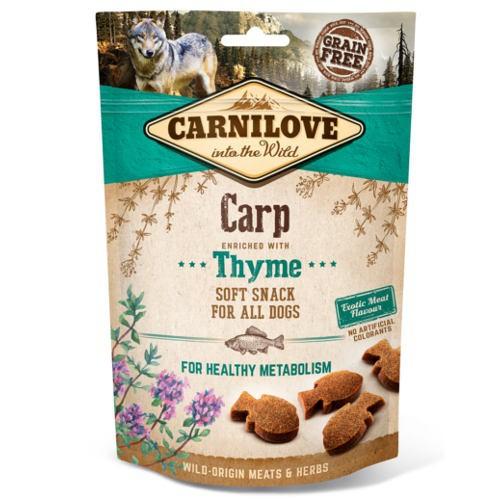 Carnilove Soft Snack Carpa con tomillo