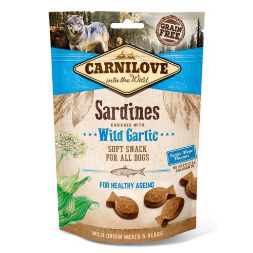 Carnilove Soft Snack Sardinas con ajos