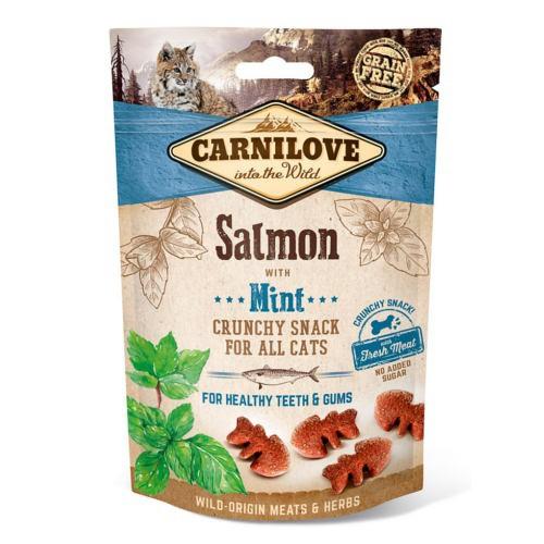 Carnilove Crunchy Snack Salmón con menta