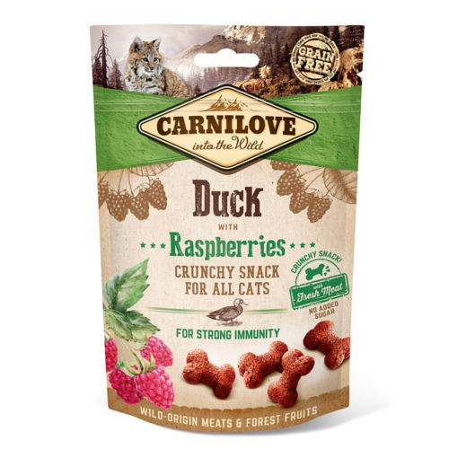 Carnilove Crunchy Snack Pato con frambuesas