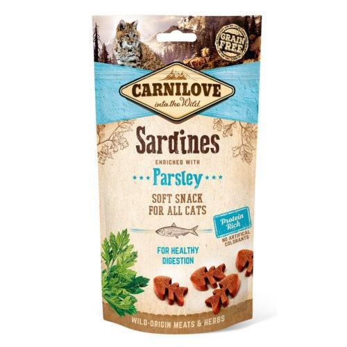 Carnilove Soft Snack Sardinas con perejil