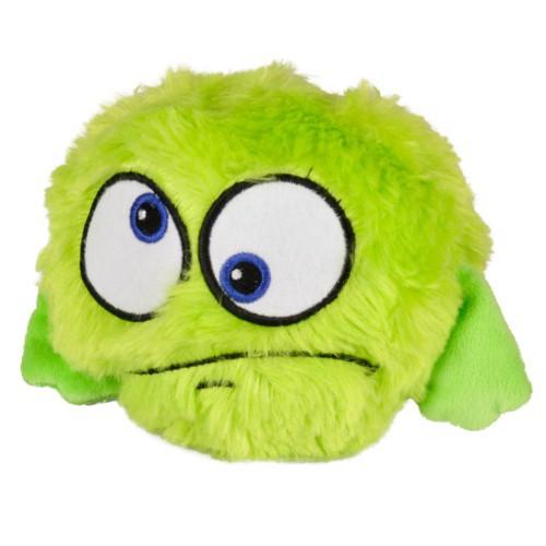 Peluche pelota saltarina verde