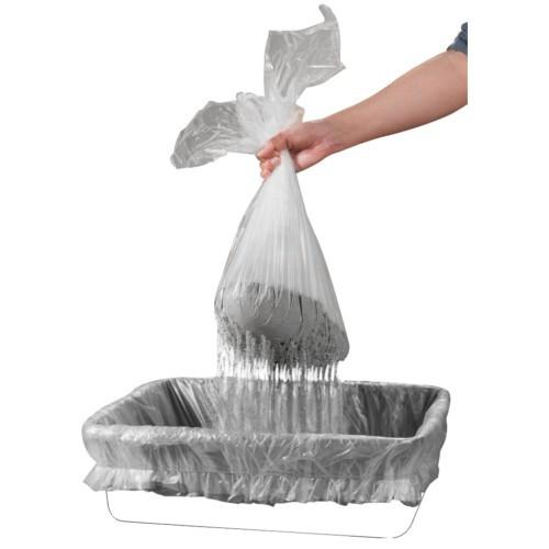 Bolsas con tamiz para bandeja higiénica