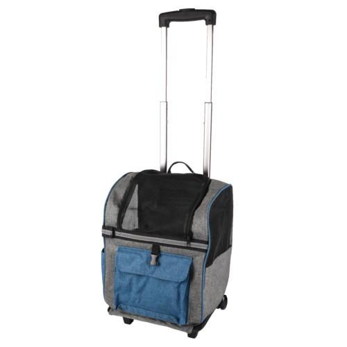 Mochila Trolley Kiara Simple azul