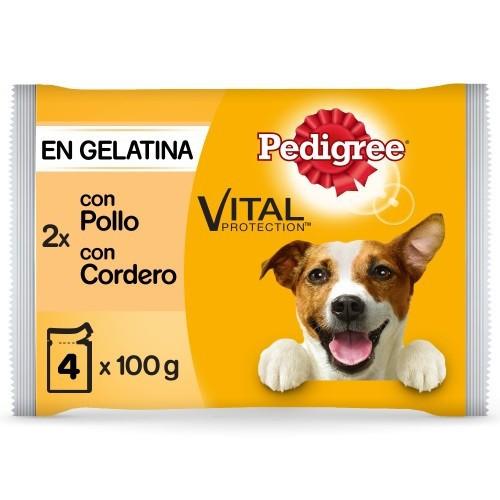 Multipack Pedigree Pollo y Cordero en gelatina
