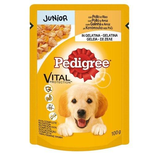 Multipack Pedigree Junior Pollo y arroz